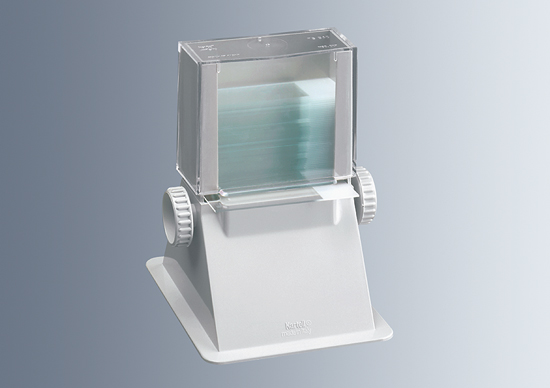 Dispensers for microscope slides